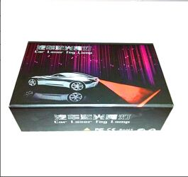 High Brightness Black Edition Version Auto Laser fog light With Factory Price