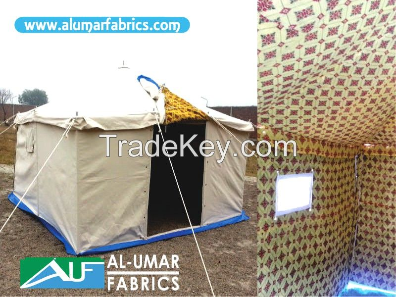 Disaster relief to Deluxe Tents,