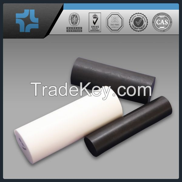 different color filled ptfe teflon round rod bar
