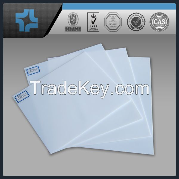 white PTFE teflon turning sheet/plate