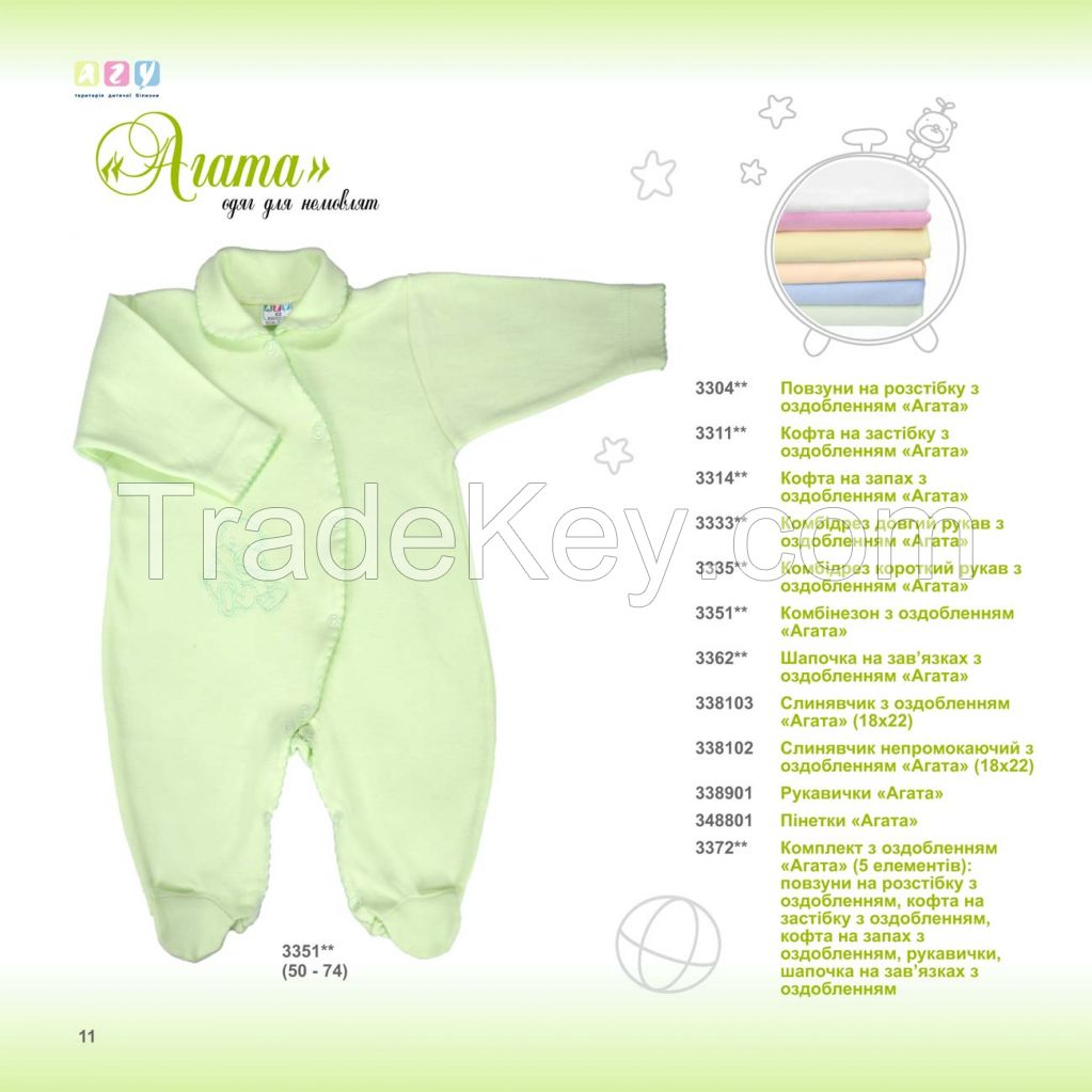 knitted clothes for babies