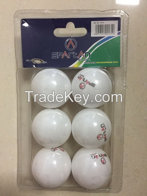 table tennis ball of 6 pcs pack