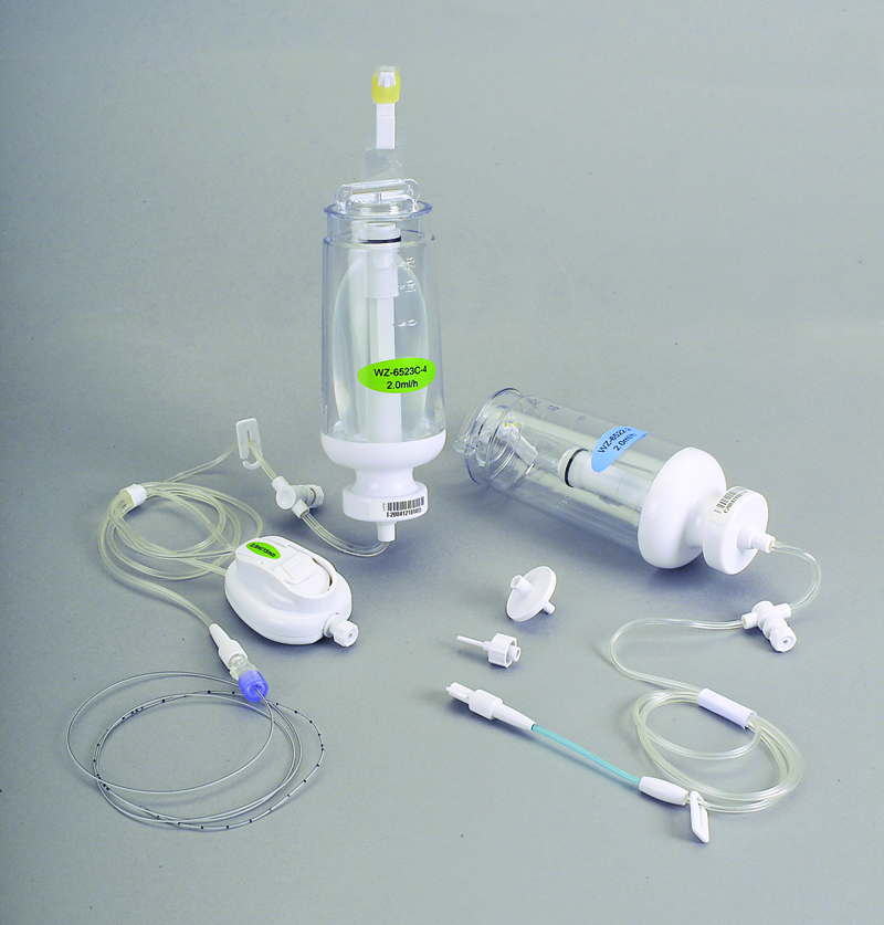 Fornia infusion pump; central venous catheter