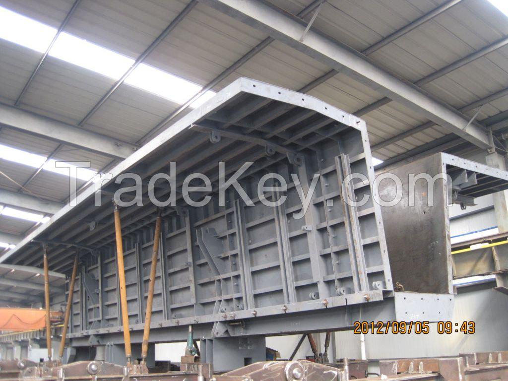 Steel formwork