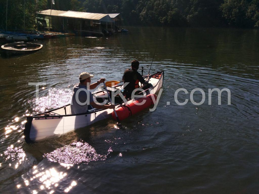 The World First Origami Folding Canoe