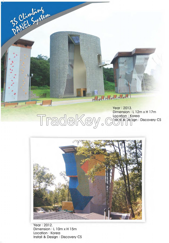 Artificial Climbing Walls