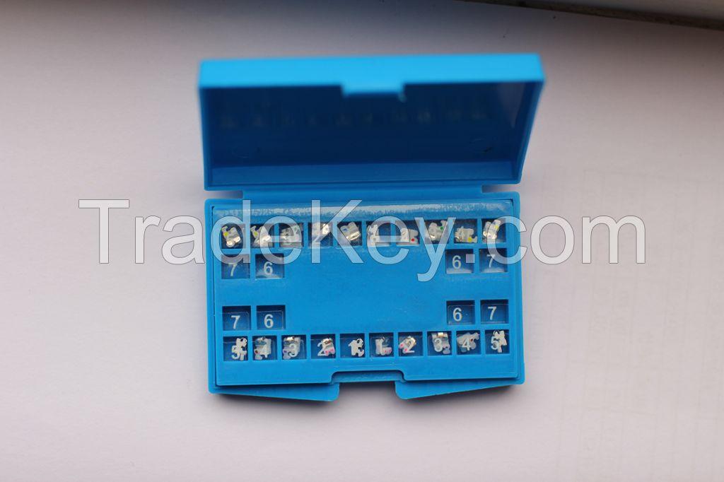 United Dental self-ligating brackets metal brackets ceramic brackets