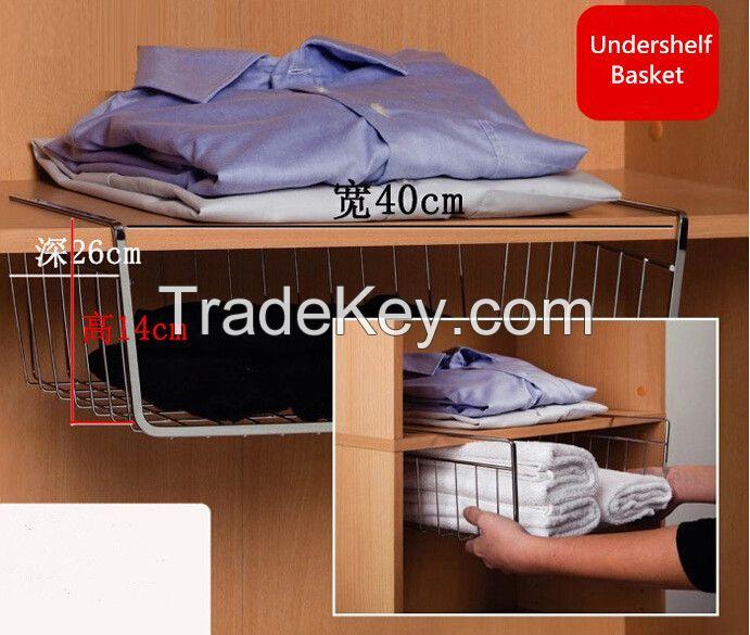 under shelf hanging storage basket