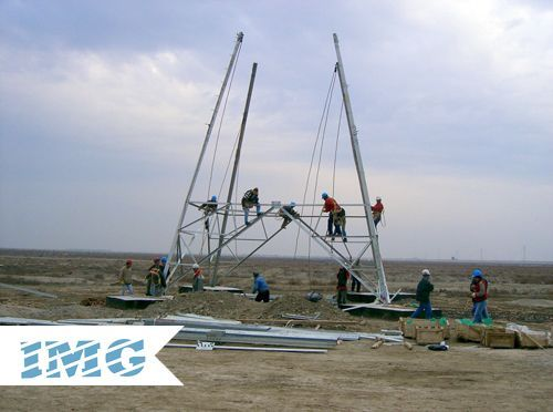 STEEL TRANSMISSION TOWERS