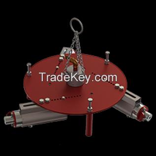 refractory ramming machine