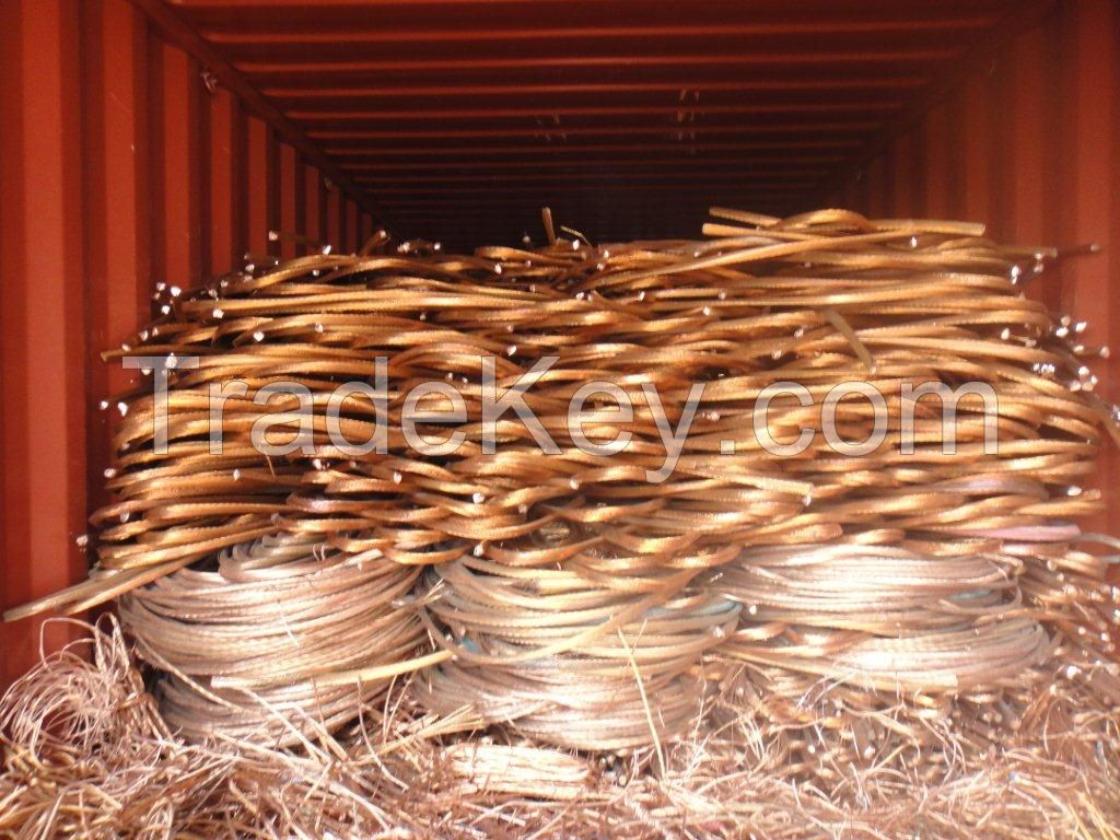 Copper, Scrap Iron, PVC, Brass, Aluminum, Pepsi cans, Stainless Steel, Zinc, and Silver.