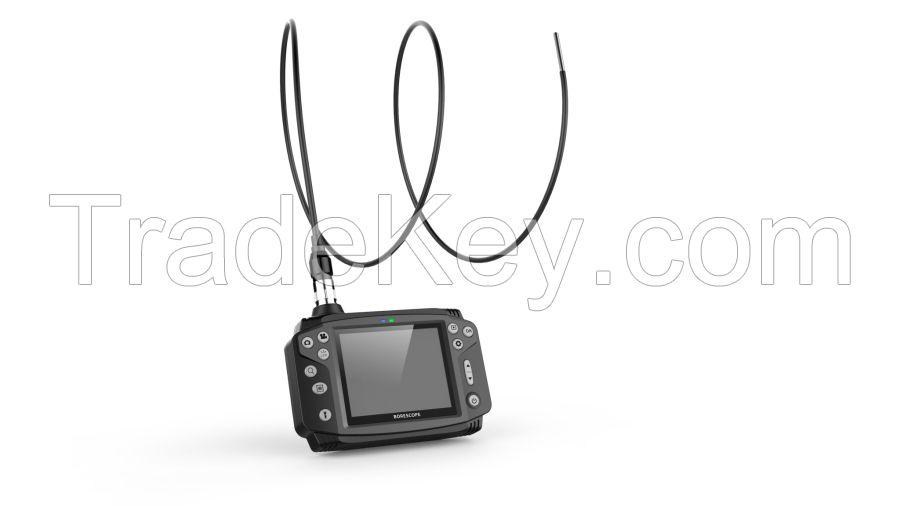 Industrial portable video borescope