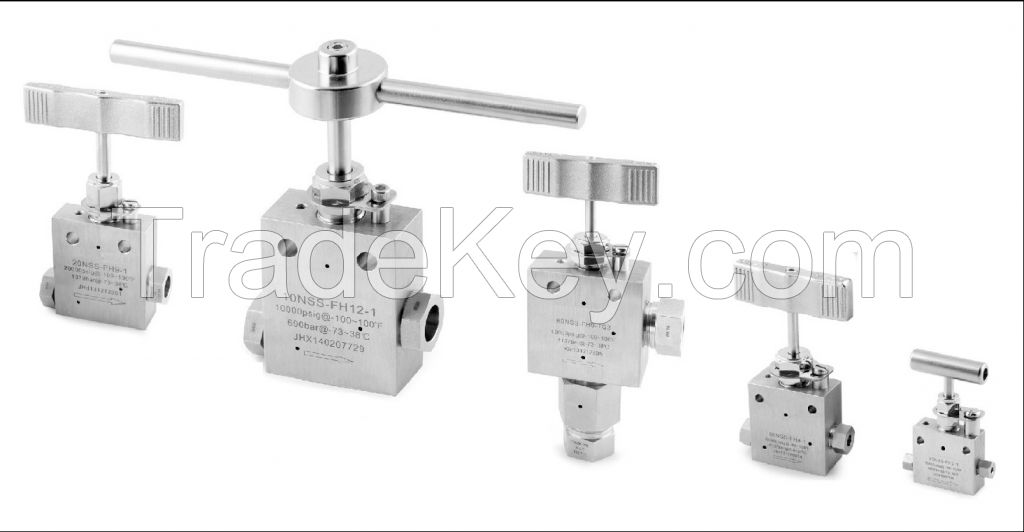 High pressure valve-6000PSI to 150000PSI