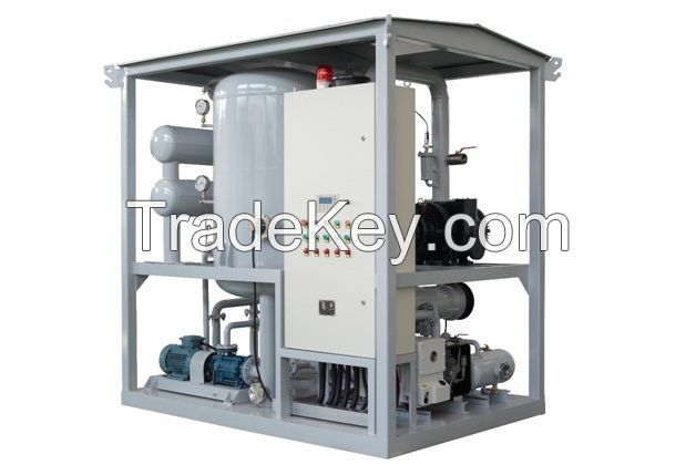 ZJA Series Double Stage High Vacuum Transformer Oil Purifier