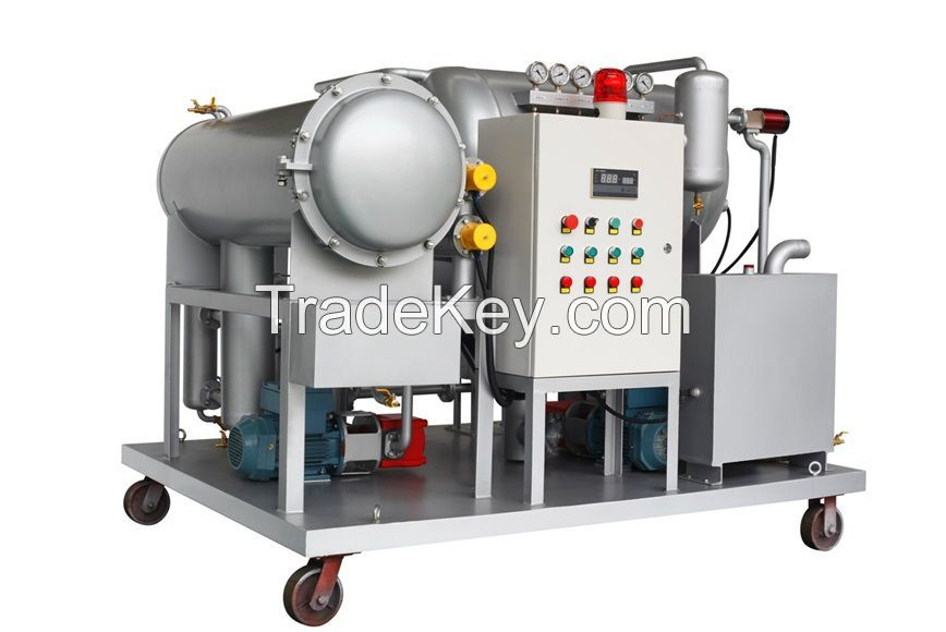 DYJC Series Turbine Oil Online Purifier