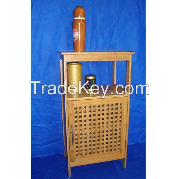 Bamboo storage cabinet