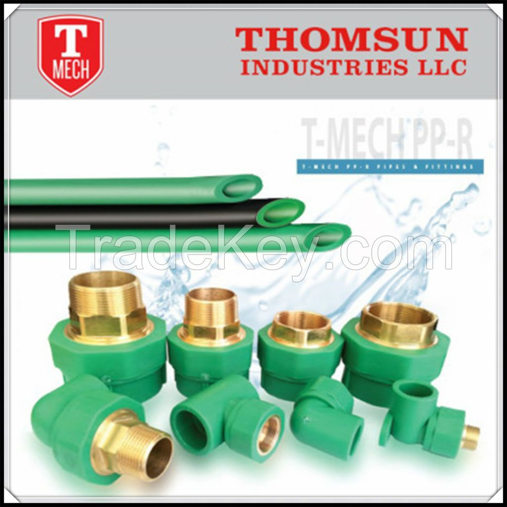 ppr pipes and fittings price list in Dubai UAE By Thomsun
