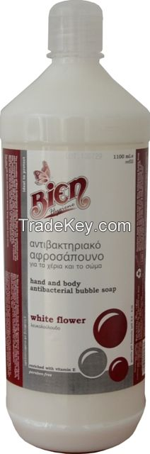 Antibacterial Hand and Body Bubble Soap 1100ml
