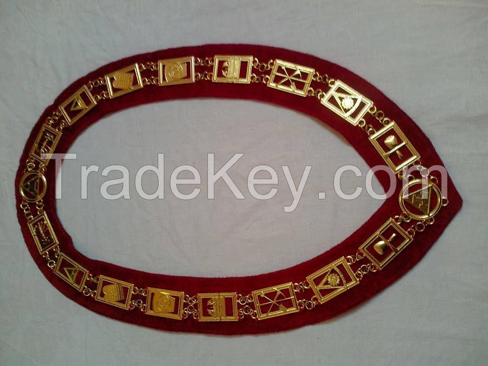 Masonic Metal Chain Collar