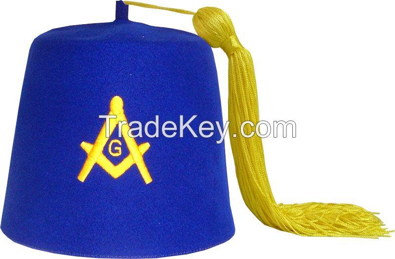 Masonic Regalia Blue Lodge Fezzes