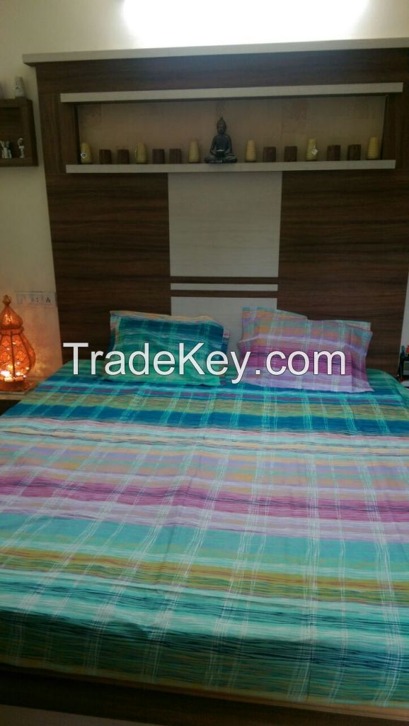 bed sheets, bed spreads