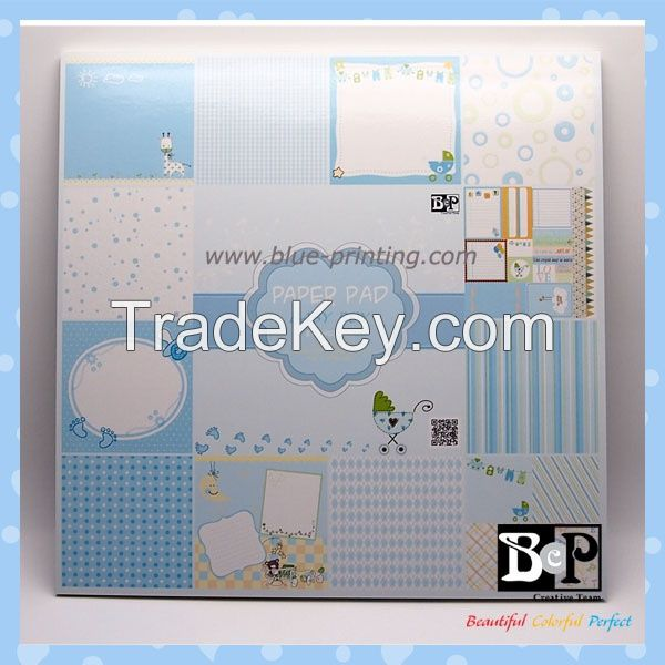 Handmade 12 x 12 scrapbooking products