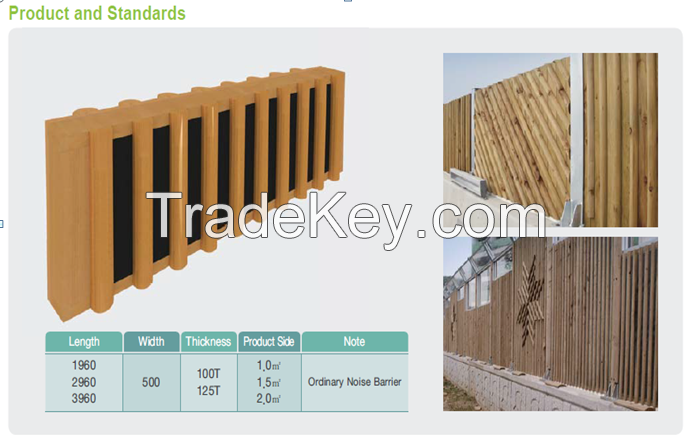 Wood Noise Barrier