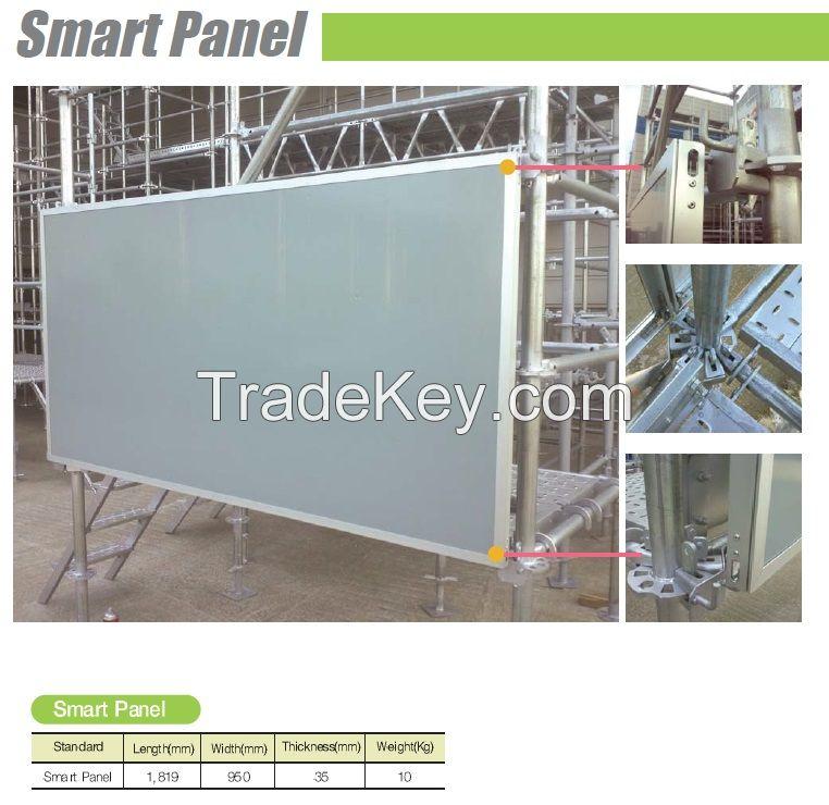 Scaffolding Smart Panels