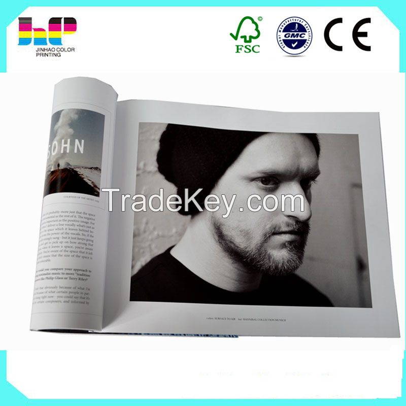 magazine/catalogue printing from Chinese factory with over 30 years printing experience