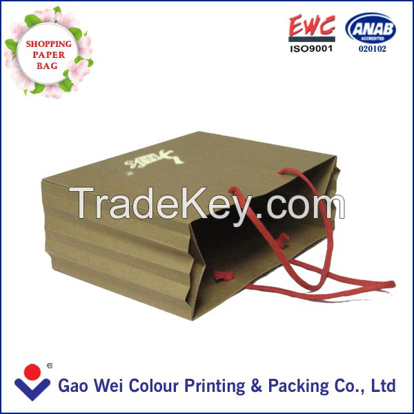 Latest China Custom Printing Paper Bag