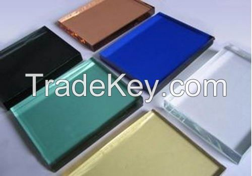 High quility color float GLASS, reflective GLASS,tempered GLASS,laminated GLASS,silk painted GLASS made in China