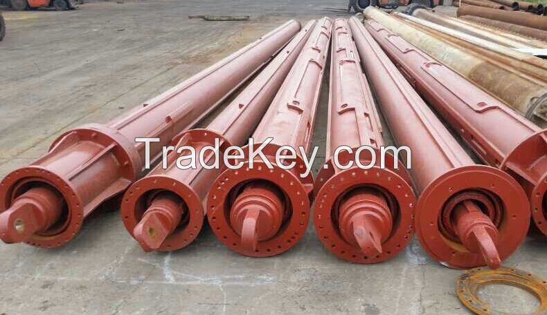 Interlocking kelly bar, friction kelly bar, BAUER, SANY rotary drilling rig