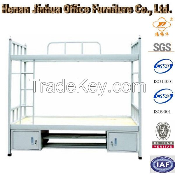 metal bunk bed, dormitory bunk bed