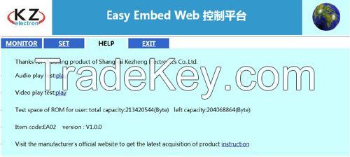 Embedded Web Server, Web control relay, Ethernet control relay