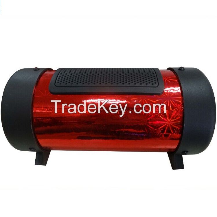 professional 4 inch 12V active car subwoofer with USB/TF/Remo