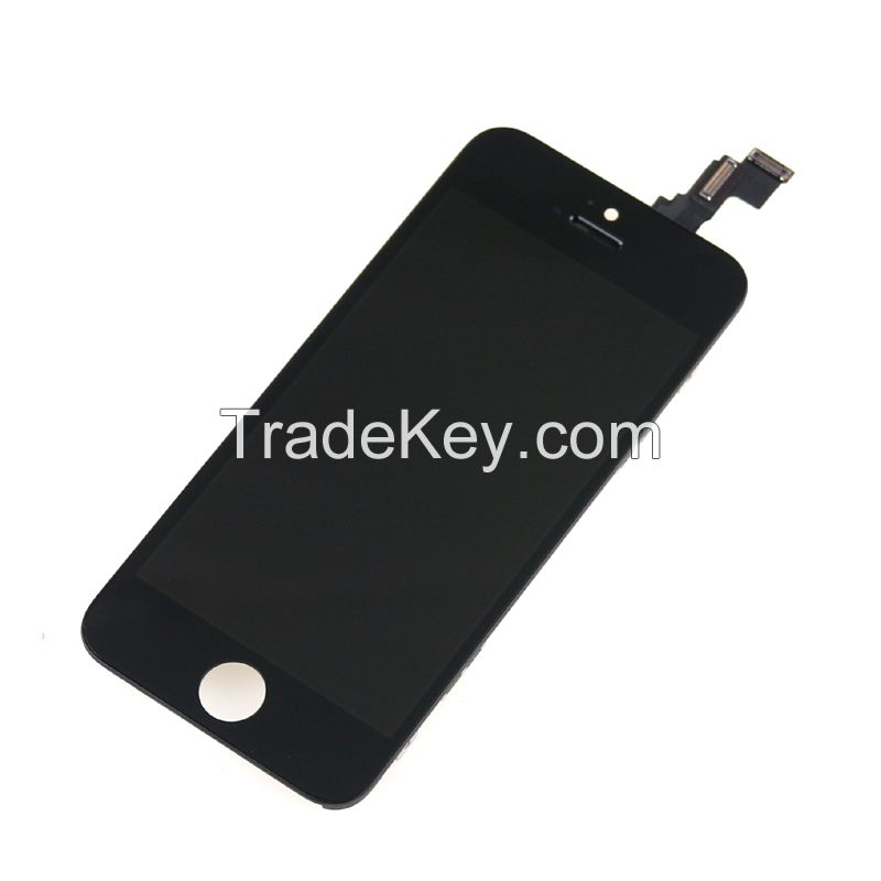 Mobile phone spare parts of  iPhone 5g/5c/5s LCD screen/ touch display/ digitizer replacement
