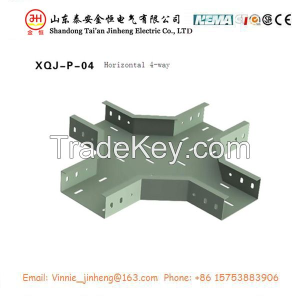 Cold galvanized perforated trough cable tray with high quality lowest price