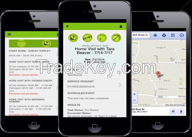 iPhone app, andriod app