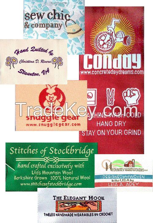 Satin, Cotton, Woven Labels, Hang Tags