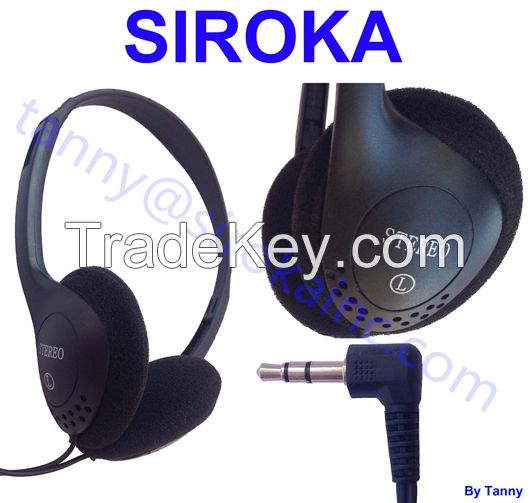 Hot Stereo Headset Mobile Headphone with Noise Reduction