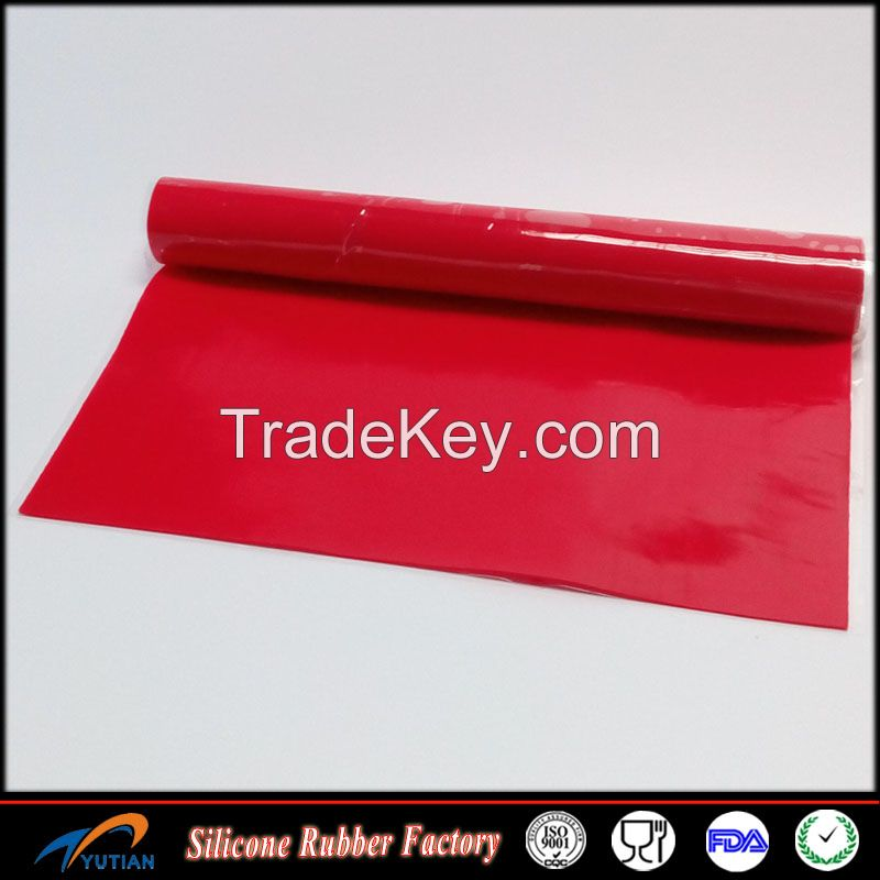 0.2mm - 10.0mm Silicone Rubber Sheet Custom Color and Size
