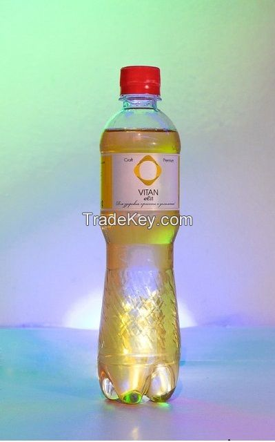 Natural Healthy Plant-based medium carbonated drink
