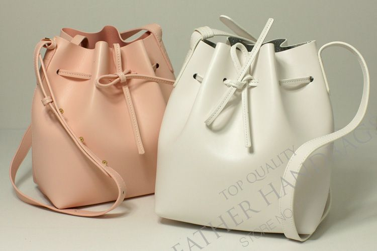 Women's cross-body bucket leather fashion high quality handbag
