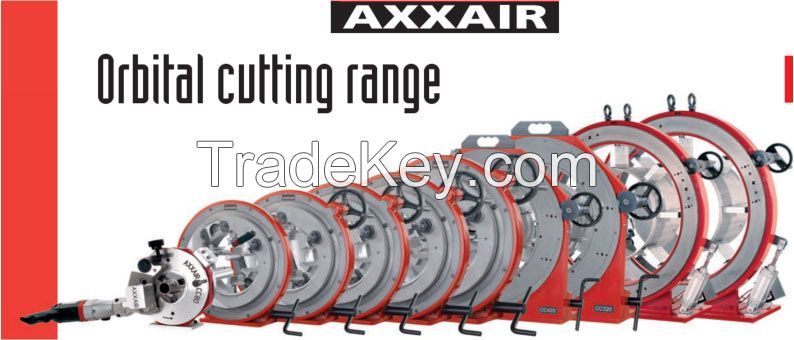 AXXAIR Orbital Cutting, Welding and Bevelling