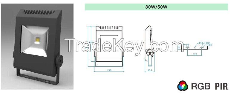 New Design LED FLOOD LIGHT 10W/30W/50W/100W