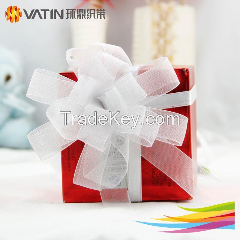 wholesale pull ribbon fllower