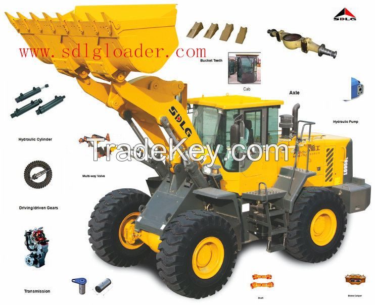 China most popular1.8T wheel loader SDLG LG918 with good quality FOR SALE