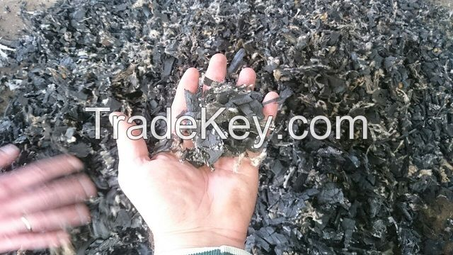rubber crumb- chip size 0.5x1.5mm