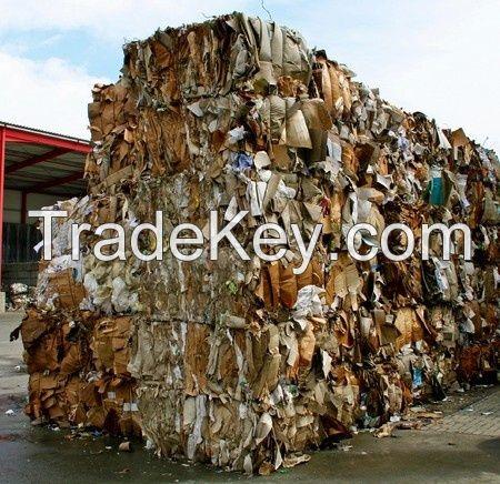 High Quality Recycled Cardboard Scrap