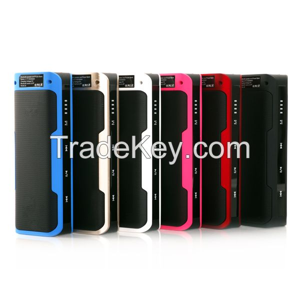 Hot Sale Best Quality Power Bank Bluetooth Speaker With 4000mAH Batter